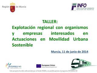 Murcia, 11 de junio de 2014
