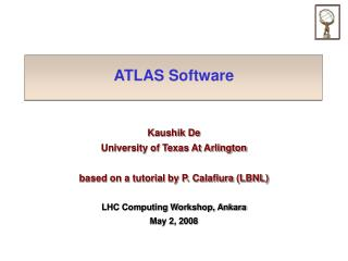 ATLAS Software