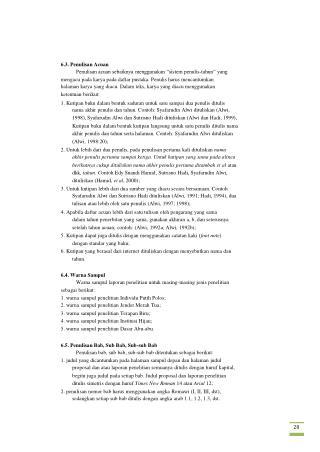 6.3. Penulisan Acuan