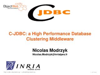 C-JDBC: a High Performance Database Clustering Middleware
