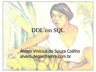 DDL em SQL