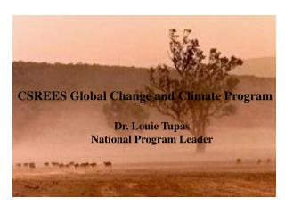 CSREES Global Change and Climate Program