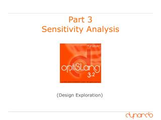 Part 3  Sensitivity Analysis