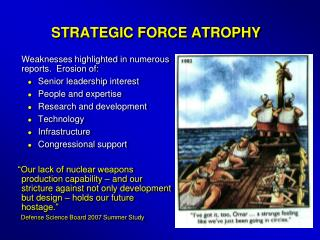 STRATEGIC FORCE ATROPHY