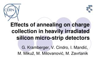 Effects of annealing on charge collection in heavily irradiated silicon micro-strip detectors