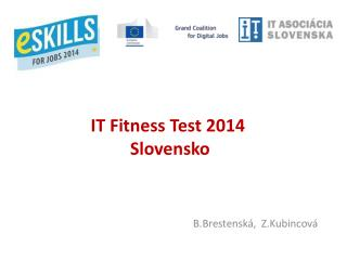 IT  Fitness  Test  2014   Slovensko