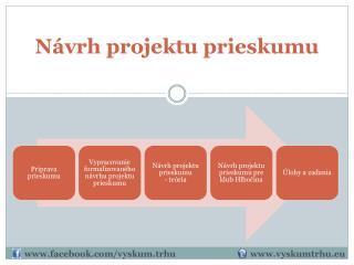 Návrh projektu prieskumu