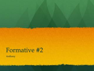 Formative #2
