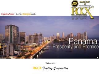 Welcome to RGCX  Trading Corporation