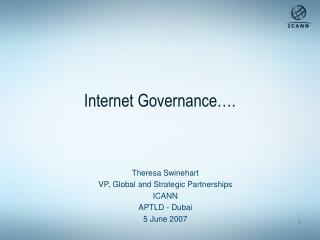 Internet Governance….