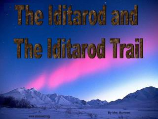 The Iditarod and  The Iditarod Trail