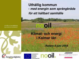 Klimat- och energi  i Kalmar län