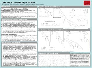 Continuous Discontinuity in  It -Clefts