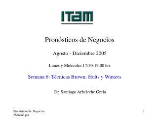 Pron sticos de  Negocios PNSem6