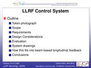 LLRF Control System