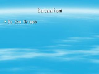 Sutaaism