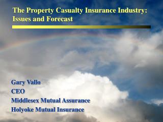 The Property Casualty Insurance Industry: Issues and Forecast