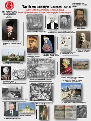 Tarih ve Edebiyat Gazetesi SAYI-12