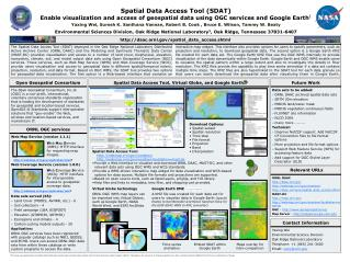 Spatial Data Access Tool (SDAT)