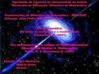 Slid e 1 - Universidad e d e Lisboa