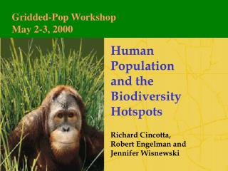 Human Population  and the Biodiversity Hotspots