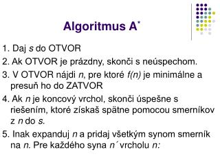 Algoritmus A *