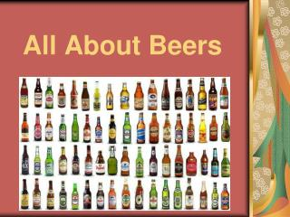 All About Beers