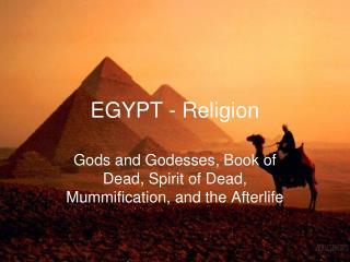 EGYPT - Religion