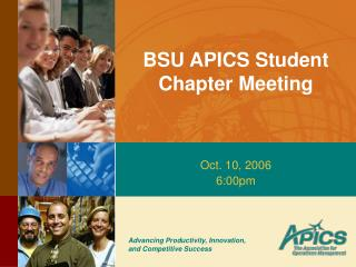 BSU APICS Student Chapter Meeting