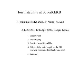 Ion instability at SuperKEKB