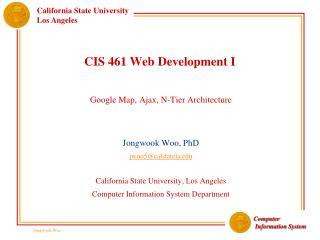 CIS 461 Web Development I