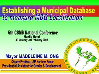 Establishing a Municipal Database