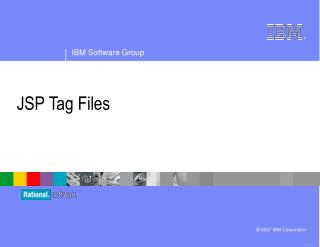 JSP Tag Files
