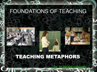 FOUNDATIONS OF TEACHING