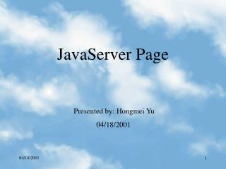 JavaServer Page