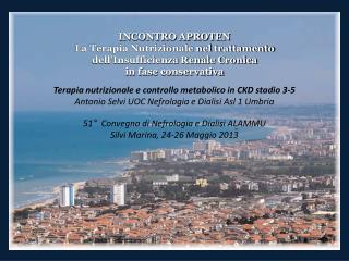 TERAPIA NUTRIZIONALE E CONTROLLO METABOLICO IN CKD 3-5