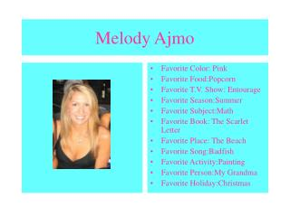 Melody Ajmo