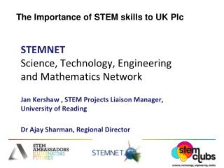 The Importance of STEM skills to UK Plc