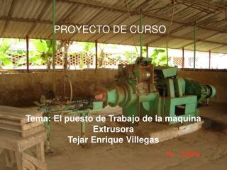 PROYECTO DE CURSO