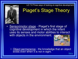 Piaget s Stage Theory