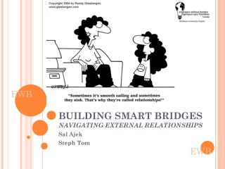 BUILDING SMART BRIDGES NAVIGATING EXTERNAL RELATIONSHIPS