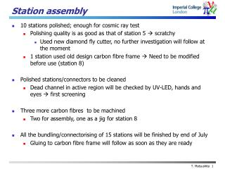 Station assembly