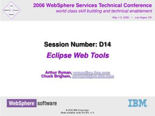 Eclipse Web Tools