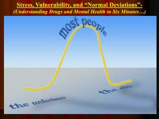Stress, Vulnerability, and �Normal Deviations�-