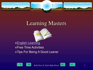 Learning Masters
