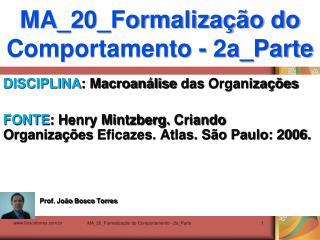 MA_20_Formalização do Comportamento - 2a_Parte