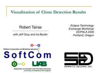 Visualization of Clone Detection Results