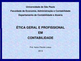 Universidade de São Paulo Faculdade de Economia, Administração e Contabilidade
