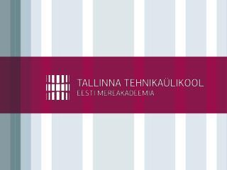 Õppetöö korraldusest Tallinna Tehnikaülikooli Eesti Mereakadeemias (TTÜ EMERA)