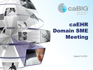 caEHR  Domain SME   Meeting
